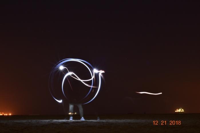 fun light trailstonight